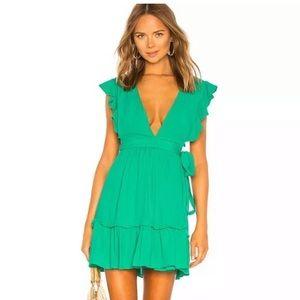 Majorelle • NWOT Green Misty Dress